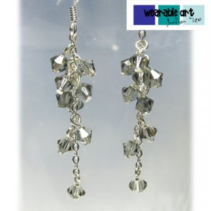 What women want - Swarovski Crystal Earrings - Available in a variety of colours
