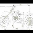JAWA 250 400 980.04 981.01 MOTORCYCLE MANUAL 400cc