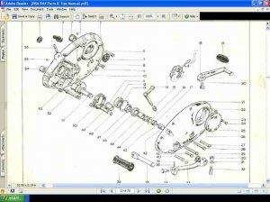 Bsa B44 Motorcycle Parts Manual B 44 Part Manuals
