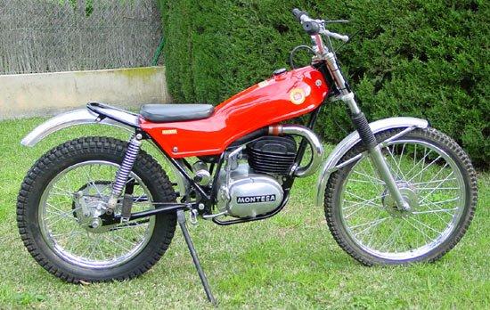 Montesa 123 Motorcycle Service  U0026 Parts Manual Set