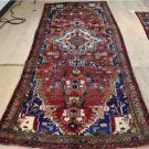 3'10 x 10 Genuine S Antique Persian Hamadan Tribal Hand Knotted Rug Wool Runner