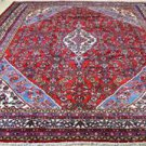 8'5x11'10 Genuine Semi Antique Persian Mahal Sarouk Hand Knotted Wool Area Rug