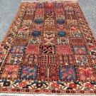 5 x 9 Genuine Fine Antique Persian Bakhtiari Shahr-E-Kurd Hand Knotted Area Rug