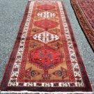 3'7 x 10'10 Fine Genuine S Antique Persian Bijar Tribal Hand Knotted Rug Runner