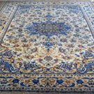 7 x 9 Collectible KPSI 170 Light Colors Genuine S Antique Persian Nain Wool Rug