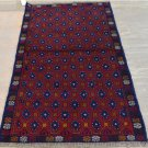 2'8 x 4'7 Pakistani Balouch Turkoman Tribal Hand Knotted Oriental Wool Area Rug