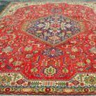 7'6 x 10'9 Gorgeous Genuine S Antique Persian Tabriz Hand Knotted Wool Area Rug