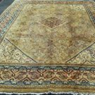 9'6 x 12'9 One of Kind Genuine Antique Persian Mahal Hand Knotted Wool Area Rug