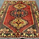 4'9 x 6'9 Genuine Semi Antique Persian Malayer Tribal Hand Knotted Wool Area Rug