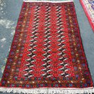 3'2 x 5'8 Rare Genuine Persian Musel Balouch Oriental Hand Knotted Area Wool Rug