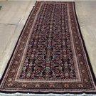 3'6 x 10'4 Genuine S Antique Persian Tribal Hamedan Hand Knotted Rug Wool Runner