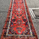 2'7x10'5 Fine Genuine S Antique Persian Mehriban Sarouk Hand Knotted Rug Runner