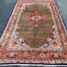 5 x 9'8 Plush Gorgeous Genuine Semi Antique Persian Koliai Hand Knotted Wool Rug