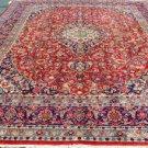 9'7x13'3 Fine Quality Genuine Persian Mashad Khorasan Hand Knotted Wool Area Rug