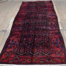 3'6 x 10 Genuine S Antique Persian Tribal Oriental Hand Knotted Wool Rug Runner
