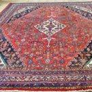 9 x 11'6 Genuine S Antique Persian Armenian Lilihan Sarouk Hand Knotted Wool Rug