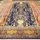 9'9 x 13'5 Excellent Finest Authentic Persian Kashan Hand Knotted Wool Area Rug