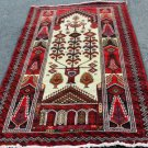 4 x 6 Genuine Persian Balouch Mousel Tribal Hand Knotted Oriental Wool Area Rug