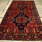 4'6x9'9 Fine Quality Genuine Semi Antique Persian Mousel Hand Knotted Rug Runner