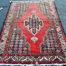 4 x 6 Genuine S Antique Persian Tribal Mazlaghan Oriental Hand Knotted Wool Rug