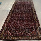 3'10x10'8 Genuine S Antique Persian Hamadan Village Hand Knotted Rug Wool Runner