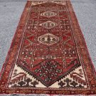 3'8 x 8'9 Genuine Semi Antique Persian Tribal Bakhtiari Hand Knotted Runner Rug
