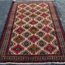 3 x 6 Nice Quality Genuine Persian Balouch Tribal Hand Knotted Oriental Wool Rug