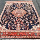 4'7x7'3 Lovely Genuine S Antique Persian Vase Sarouk Hand Knotted Wool Area Rug
