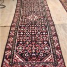 3'3 x 9'9 Genuine S Antique Persian Hamadan Tribal Hand Knotted Rug Wool Runner