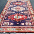 4'7 x 10 Stunning Genuine S Antique Persian Bird Meshkin Hand Knotted Wool Rug