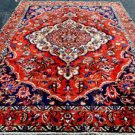 7x10 Rare Collectible Genuine S Antique Persian Bakhtiari Chahar Mahal Wool Rug