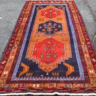 4'3x9'6 Genuine S Antique Persian Tribal Pictorial Hand Knotted Wool Runner Rug