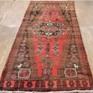 3'2 x 8'4 Genuine S Antique Persian Tribal Bird Oriental Hand Knotted Rug Runner