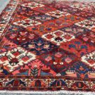 7'3 x 9'7 Beautiful Genuine S Antique Persian Bakhtiari Chahal Shotur Wool Rug