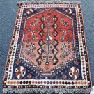 2'4 x 3'4 Fine Genuine Tribal Persian Abadeh Hand Knotted Oriental Wool Area Rug
