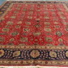 9'8 x 12'9 Spectacular Genuine Semi Antique Persian Tabriz Hand Knotted Wool Rug