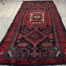 4'4x11'6 Genuine S Antique Northwest Persian Bijar Tribal Hand Knotted Wool Rug
