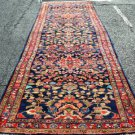 3'10 x 15 Amazing Genuine S Antique Persian Hamadan Hand Knotted Wool Rug Runner