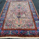 4'9 x 8'5 Beautiful Authentic Persian Kerman Oriental Hand Knotted Wool Area Rug