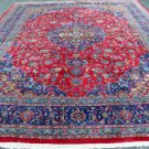 10 x 13 Superb Quality Perfect Genuine Persian Kashan Hand Knotted Wool Area Rug