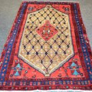 3'8x5 Plush Genuine Semi Antique Persian Koliai Tribal Oriental Hand Knotted Rug