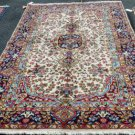 4'9 x 8'1 Beautiful Authentic Persian Kerman Oriental Hand Knotted Wool Area Rug