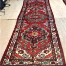 3'4 x 10'4 Genuine S Antique Persian Hamadan Tribal Hand Knotted Rug Wool Runner