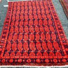 4x7 Genuine S Antique Persian Hamadan Tribal Paisley Hand Knotted Wool Area Rug