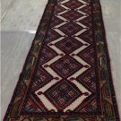 2'7 x 8'9 Fine Authentic Persian Tribal Hamadan Hand Knotted Wool Rug Runner