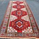 3'9 x 11'5 Fine Genuine S Antique Persian Serab Meshkin Hand Knotted Rug Runner