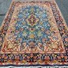 4'7x8'3 Beautiful Nice Quality Genuine Persian Kerman Hand Knotted Wool Area Rug