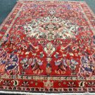 7'4 x 11'6 Fine Authentic Persian Bakhtiari Mahal Hand Knotted Oriental Wool Rug