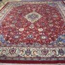 9'10 x 13'1 Gorgeous Persian Armenian Lilihan Sarouk Hand Knotted Wool Area Rug