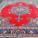 10 x 12'8 Beautiful Genuine S Antique Persian Tabriz Hand Knotted Wool Area Rug
